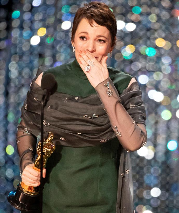 Olivia won a Best Actress Oscar for playing Queen Anne in *The Favourite*.