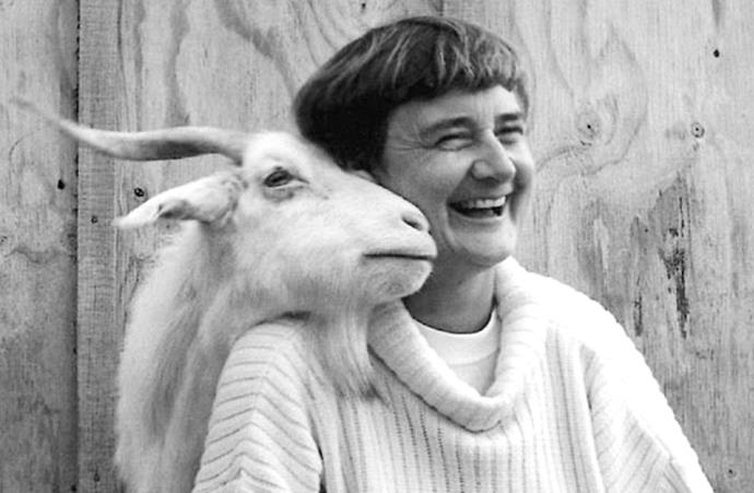 After parliament, Marilyn turned to goat farming.
