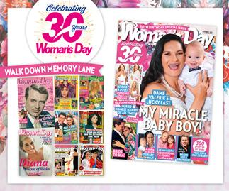 It's our birthday! 30 covers to celebrate 30 years of Woman's Day