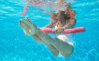 underwater exercise