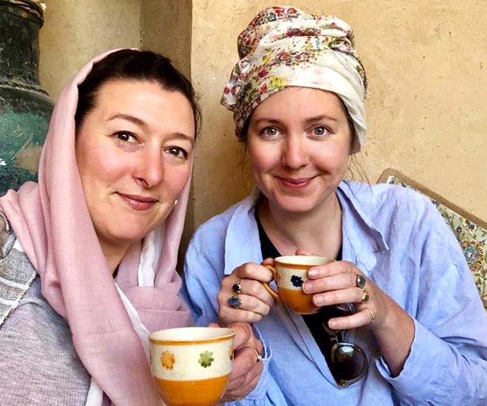 Emma Clifton in Iran