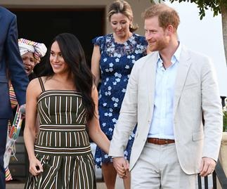 meghan markle and prince harry south africa