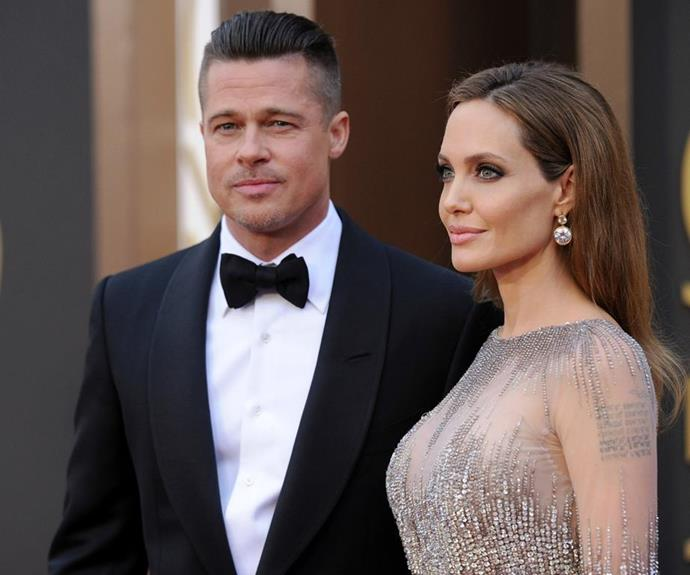 Brad and Angelina shocked the world when they announced their split after 12 years together. *Image: Getty*