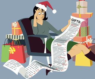 Jo Seagar gives her top tips on how to stay calm and solvent over Christmas