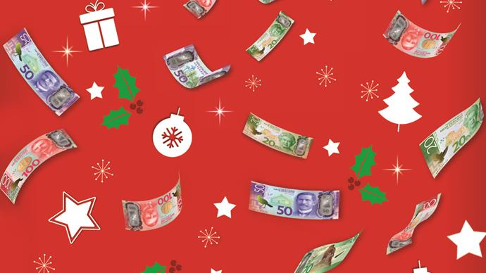 Be in to win cash this Christmas!