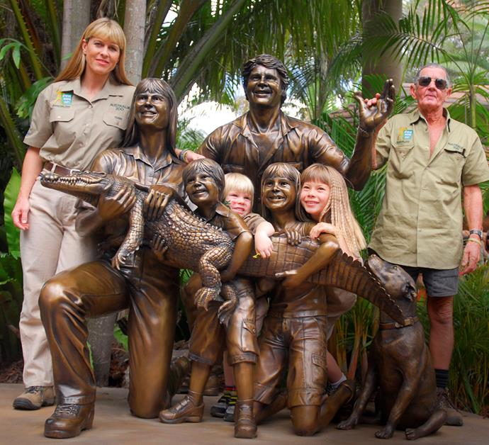 After Steve died, Terri and the kids fell out with Bob.