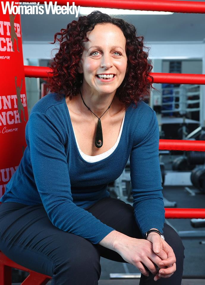 Lisa introduced boxing classes for people with Parkinson's to New Zealand, and roped in heavyweight champ and gym owner Shane to help.