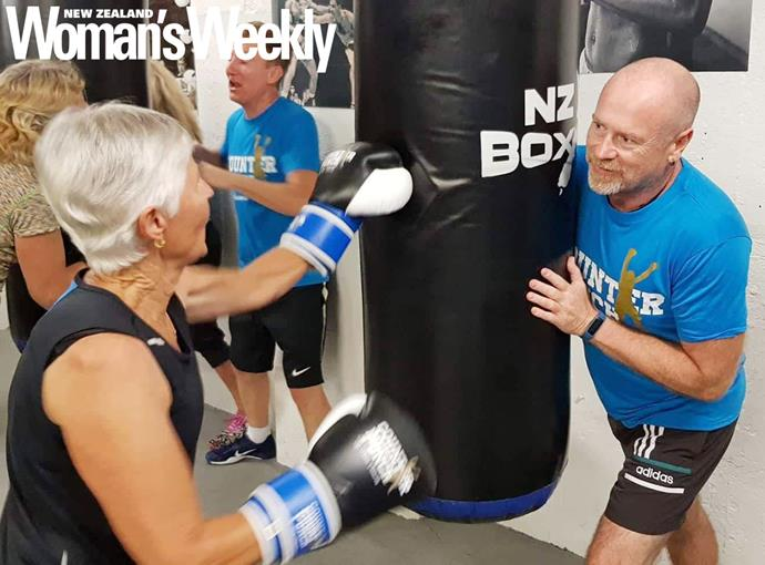 Johnny is currently New Zealand's only Counterpunch coach who has Parkinson's.
