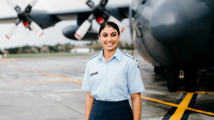 Ravinder Phagura Royal NZ Air Force