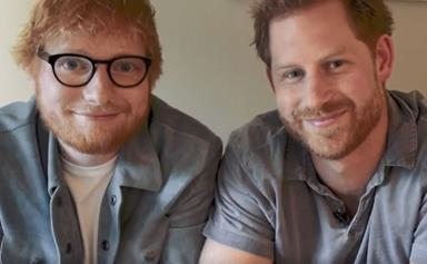 'Gingers unite!' Prince Harry and Ed Sheeran share a hilarious video for an important cause
