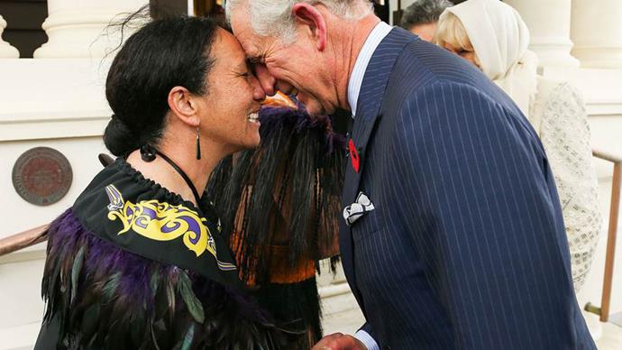 prince charles hongi new zealand
