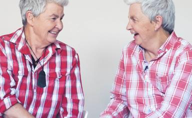 The Topp Twins on their absolute joy at having a baby in the family