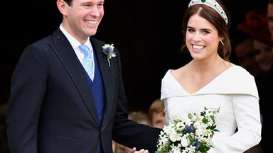 Princess Eugenie shares a never-before-seen video from her wedding to Jack Brooksbank