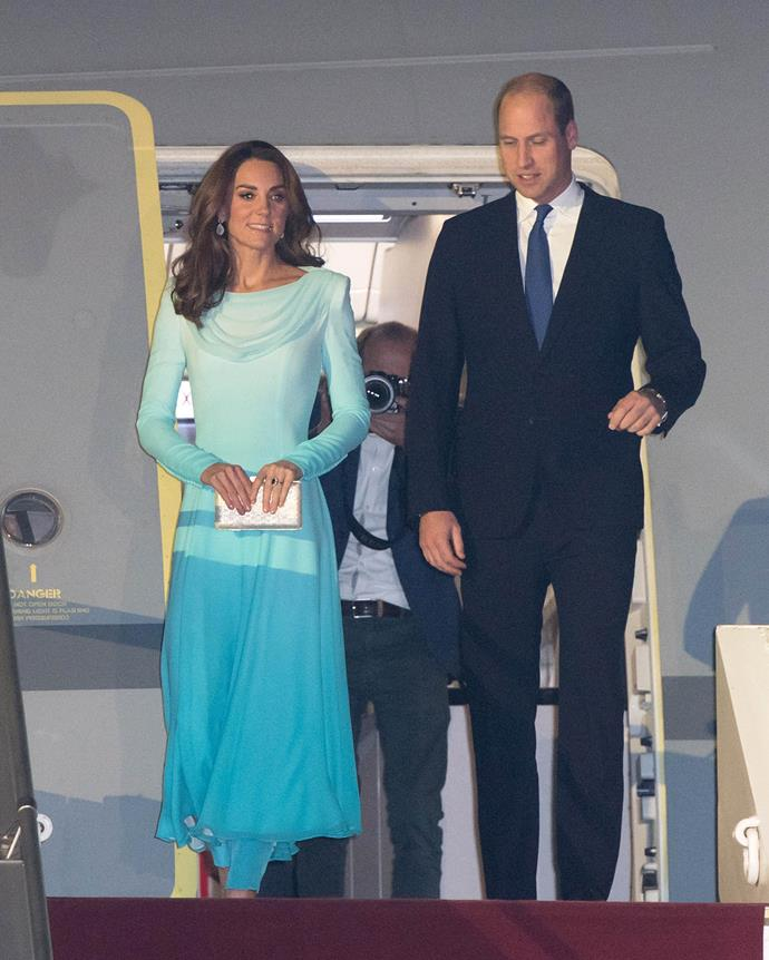 The couple are eager to meet as many Pakistani as possible during their five-day visit. *(Image: Getty)*