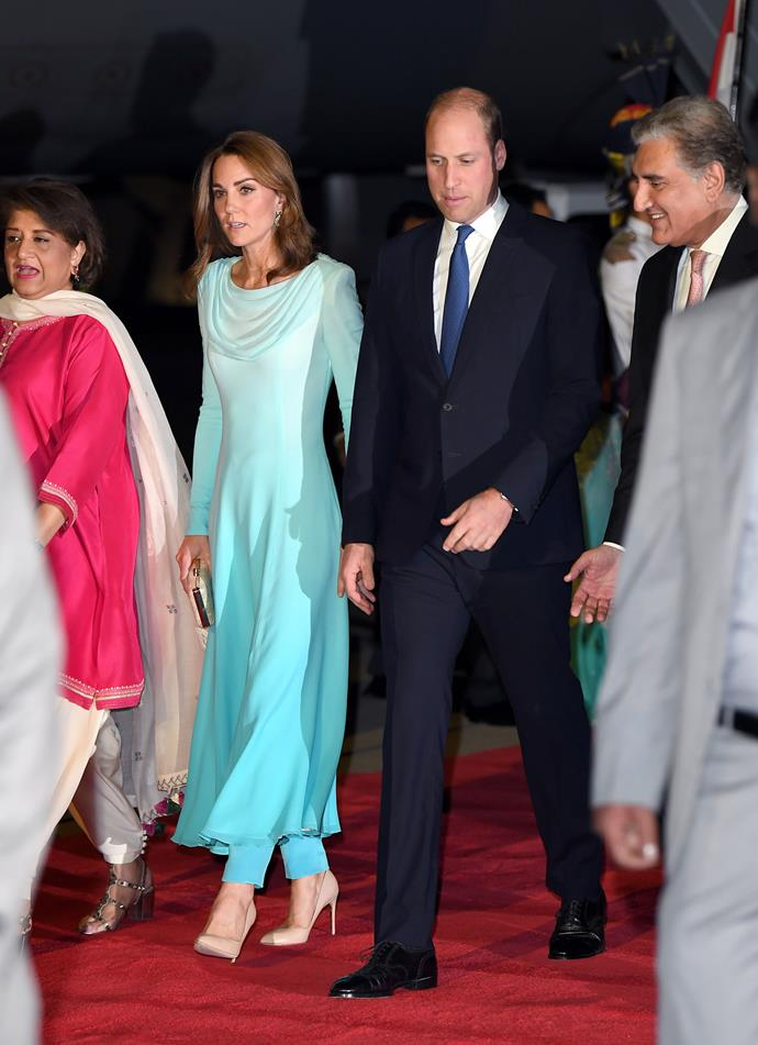 Education and climate change will be some of the main focuses for the couple during their visit to Pakistan. *(Image: Getty)*