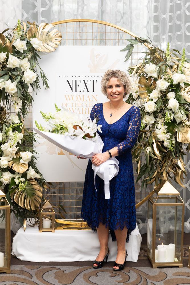 Supreme and Health & Science winner Diana Sarfati