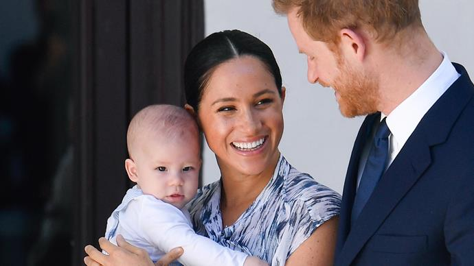 archie meghan markle prince harry south africa