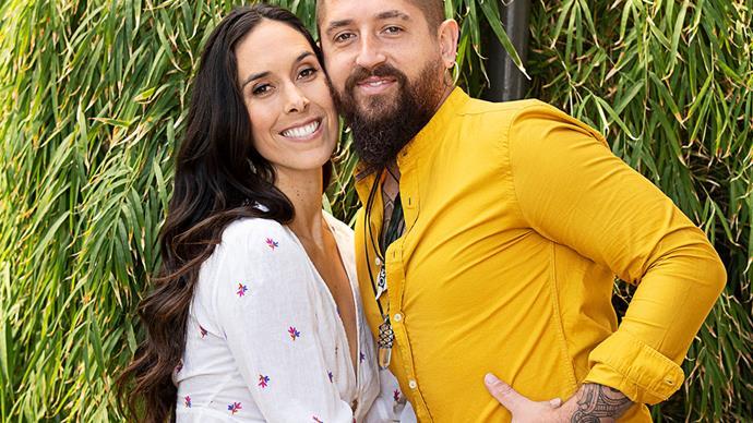 Franko Heke and Nikki Rhodes