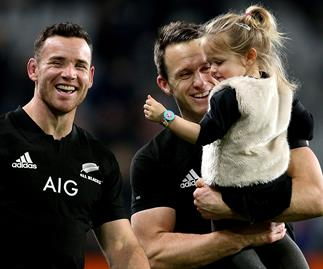 All Black ben smith daughter