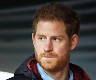 prince harry serious