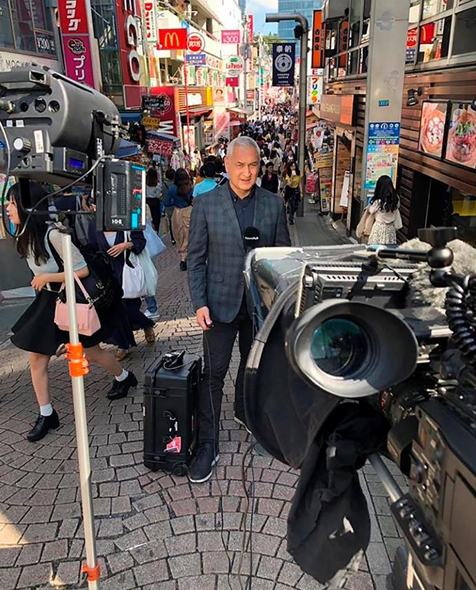 Mike's happy to be back in Japan covering the rugby