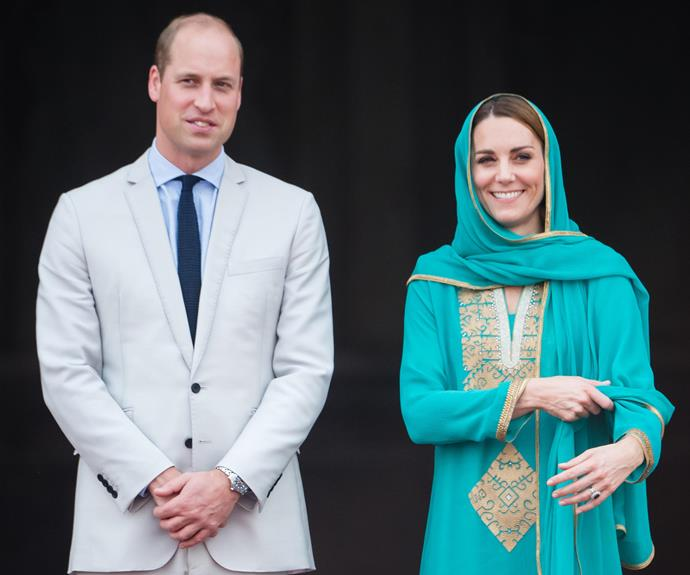 The new video shows behind-the-scenes footage of the couple throughout their Pakistan tour. *(Image: Getty)*