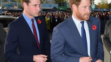 Prince William is 'worried' about Prince Harry following his emotional documentary interview
