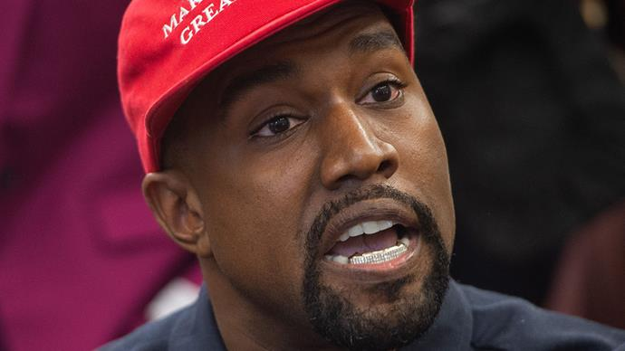 Kanye West make america great again president