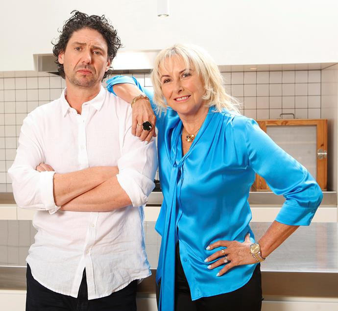 Colin and Judith serve up their professional opinions as judges on the inaugural season of *My Restaurant Rules.*