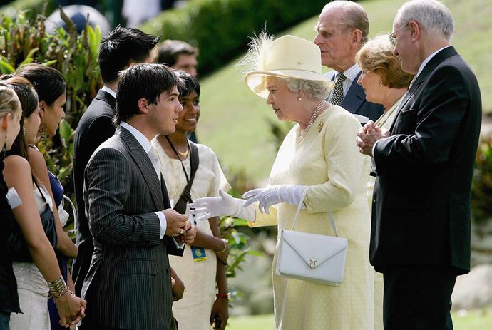 Queen Elizabeth during her visit to Sydney, Australia in 2006. *(Image: Getty)*