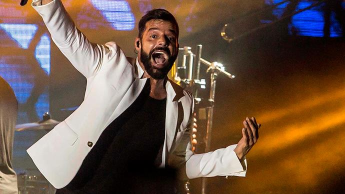 Ricky Martin and husband Jwan Yosef reveal a peek of their brand new baby son