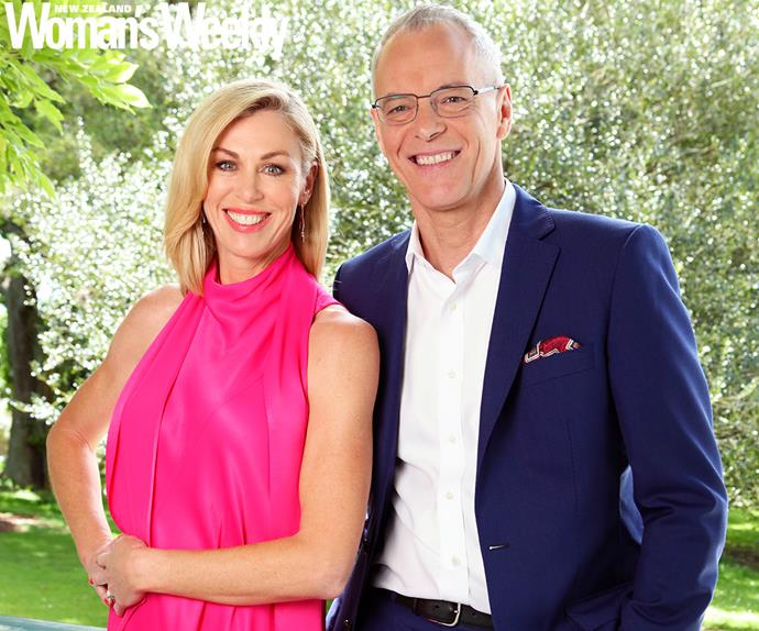 Simon Dallow and Wendy Petrie