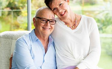 Radio broadcaster Murray Lindsay celebrates 40 years of marriage with wife, Jo