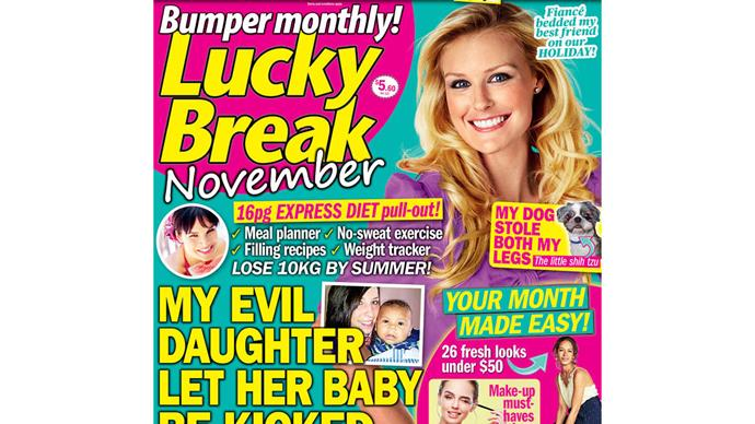 Lucky Break Bumper Monthly puzzle entry November
