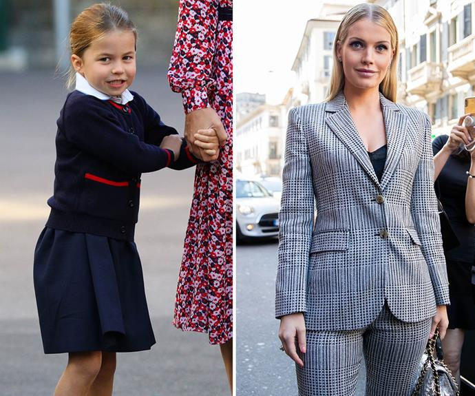 princess charlotte and lady kitty spencer