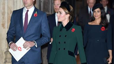 Remembrance Day will see the Cambridges and Sussexes reunite