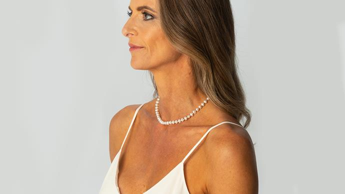 Michael Hill jeweller pearl necklace