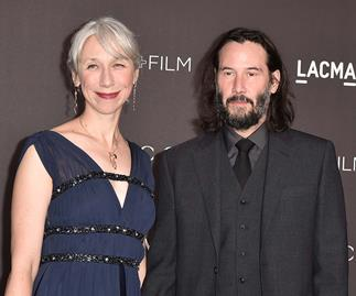 Keanu Reeves steps out with his first serious girlfriend in decades