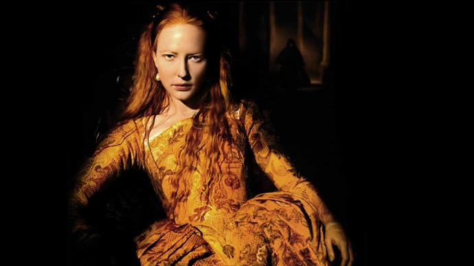 Her breakthrough role as Queen Elizabeth I of England in *Elizabeth*