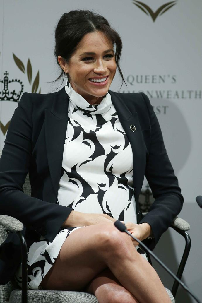 Meghan would be the highest paid out of the royals if she were to return to her days as an actress. *(Image: Getty)*