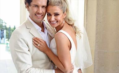 Zac Franich and Erin Simpson's magical wedding day
