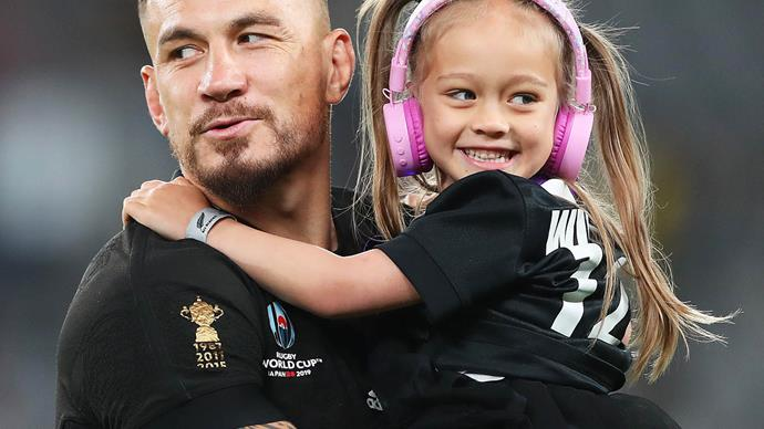 Sonny bill williams all black rugby world cup daughter imaan