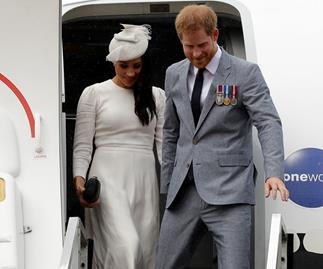 prince harry meghan markle plane
