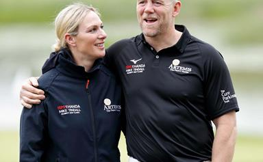 Mike Tindall accidentally reveals his phone screen saver - and the pic is absolutely adorable!