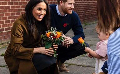 Duchess Meghan and Prince Harry surprised military families and shared a cute update about Archie