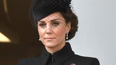 Duchess Catherine wore this special brooch on Remembrance Sunday for a very touching reason