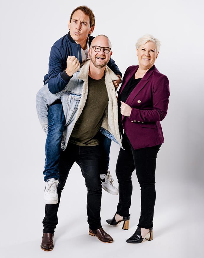 Jay-Jay hosts the More FM drive show alongside Paul 'Flynny' Flynn and Jason Gunn.
