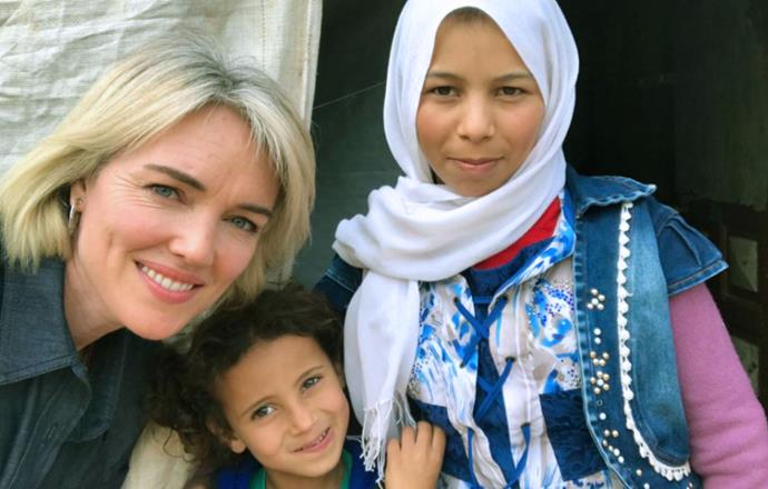 Petra visiting Lebanon last year in her role as Tearfund NZ ambassador