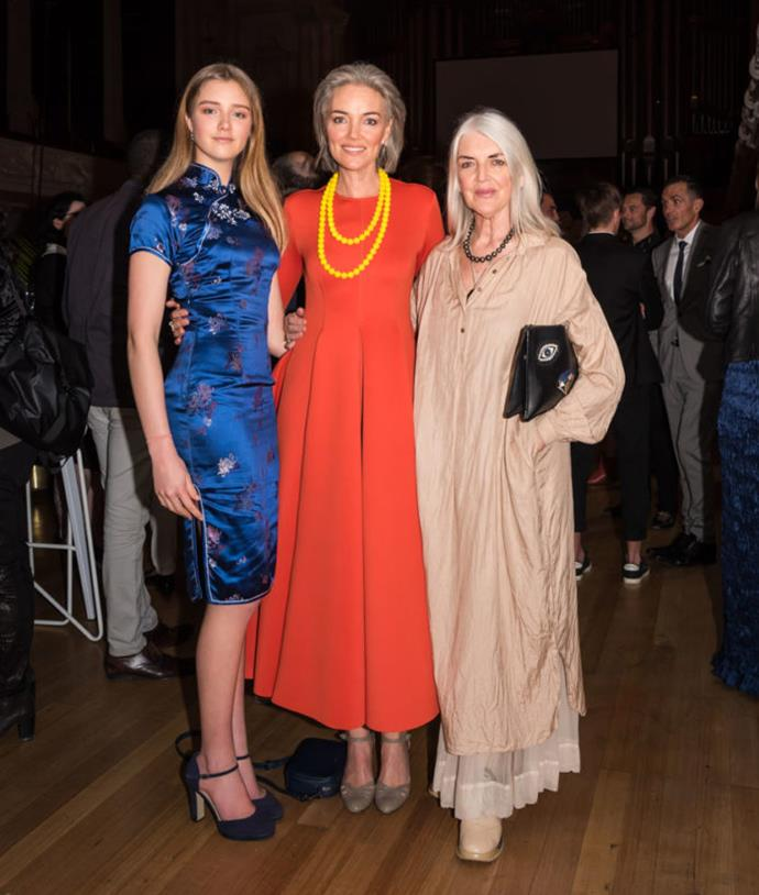 "Venetia, Petra and Judi at Fashion Week *[Image: Rebekah Robinson via Fashion Quarterly](https://www.fq.co.nz/fashion/street-style/nzfw-party-pics-opening-party-kate-sylvester|target=""_blank"")*"