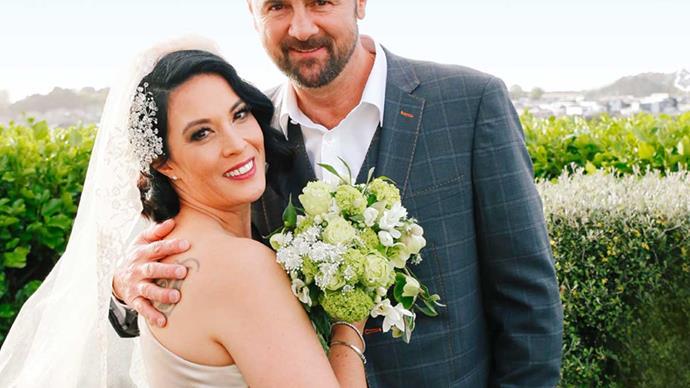 Simon Doull wedding Liana Herbert